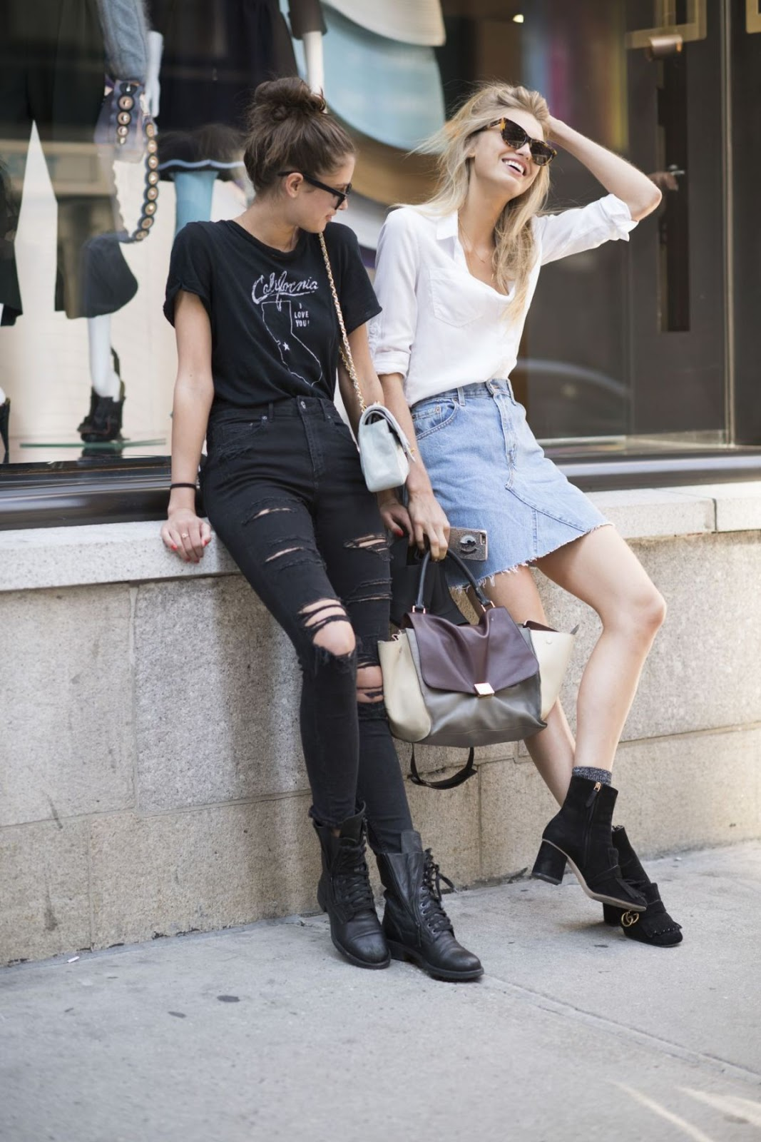 HQ Photos of Taylor Hill and Romee Strijd out in NYC