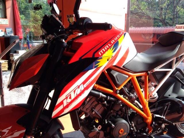 KTM Super Duke R 1290 R Special Edition Malaysia 2014 Motor Malaysia