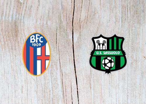 Bologna vs Sassuolo - Highlights 31 March 2019