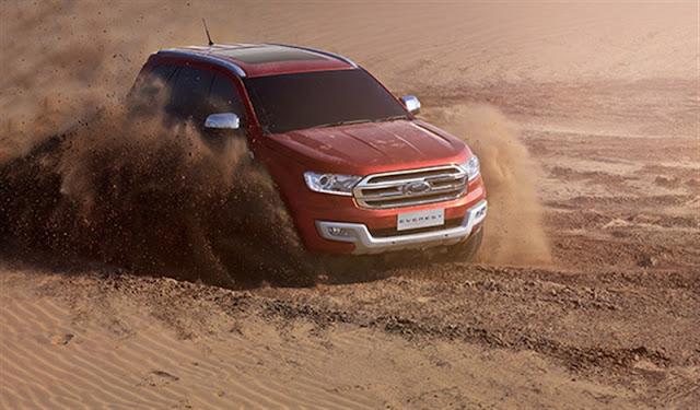Gia ban xe Ford Everest 7 chỗ Titanium