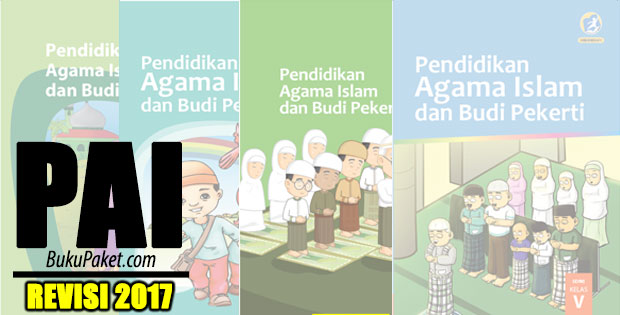 Download Buku PAI Kurikulum 2013 SD/MI Revisi 2017