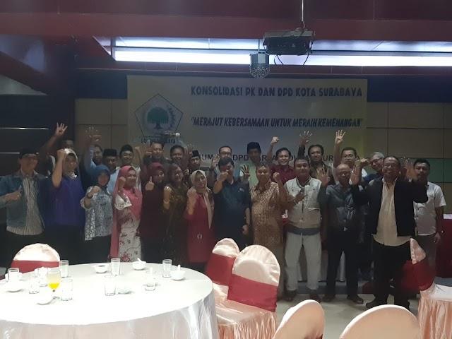 Golkar Surabaya Dapat Apresiasi Pimpinan Kecamatan Golkar se-Surabaya