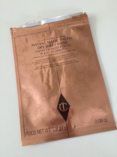Charlotte Tilbury Instant Magical Facial Dry Sheet Mask