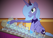 My liitle Pony Luna and the Glass Harp