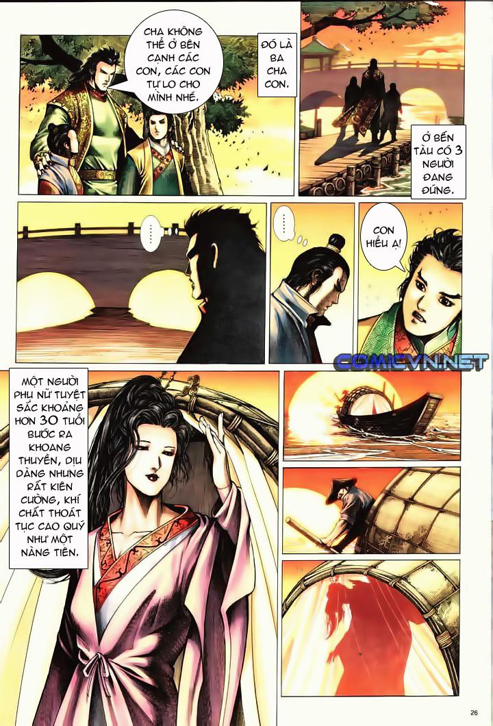 Anh hùng vô lệ Chap 10 trang 23
