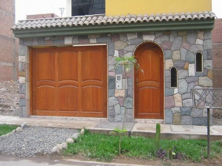Fachadas de piedra fachadas de casas de piedra laja - Piedra artificial para fachadas ...