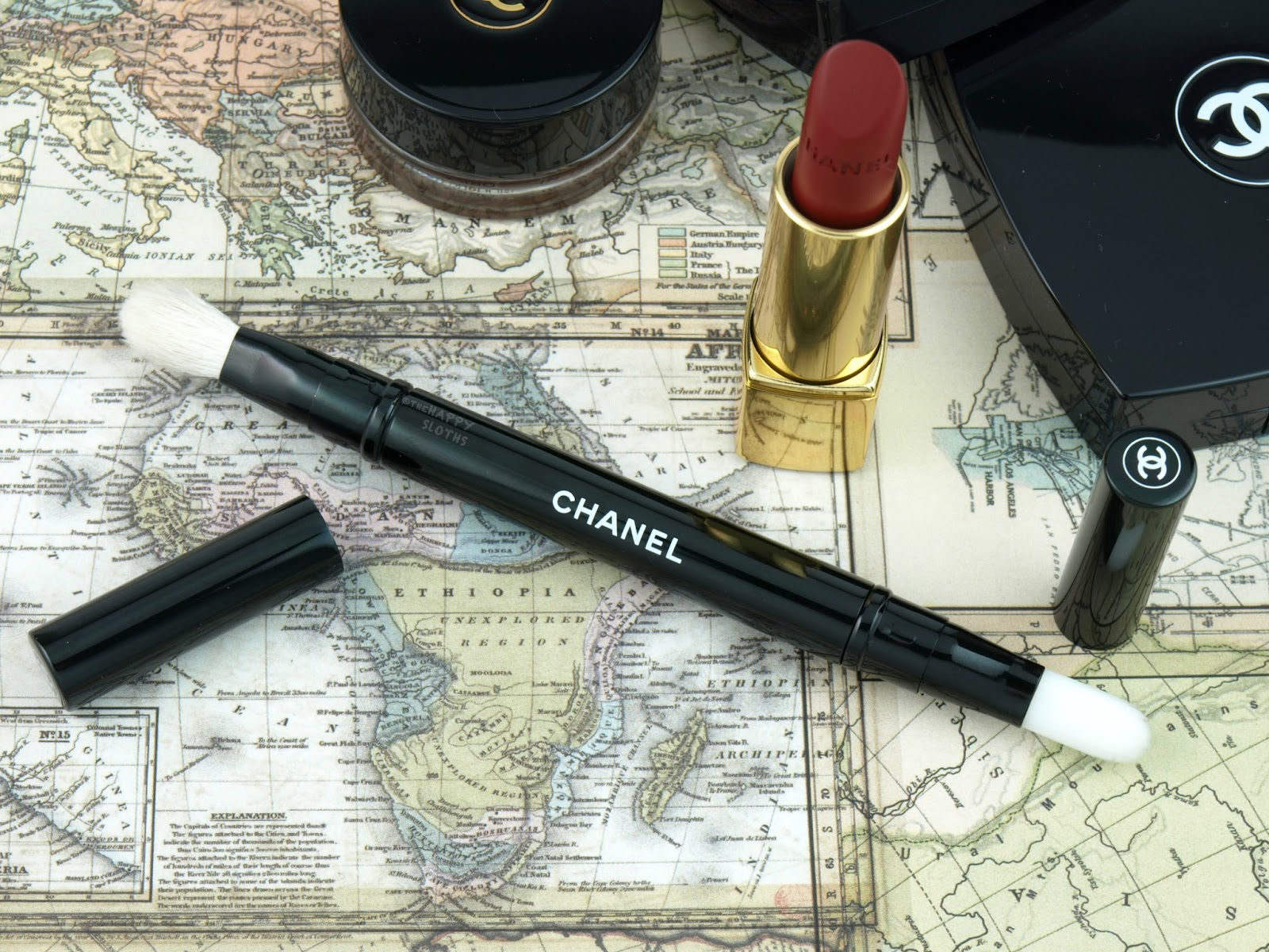 Chanel Fall 2017 Travel Diary Collection: Review and Swatches | The Happy Sloths: Beauty ...