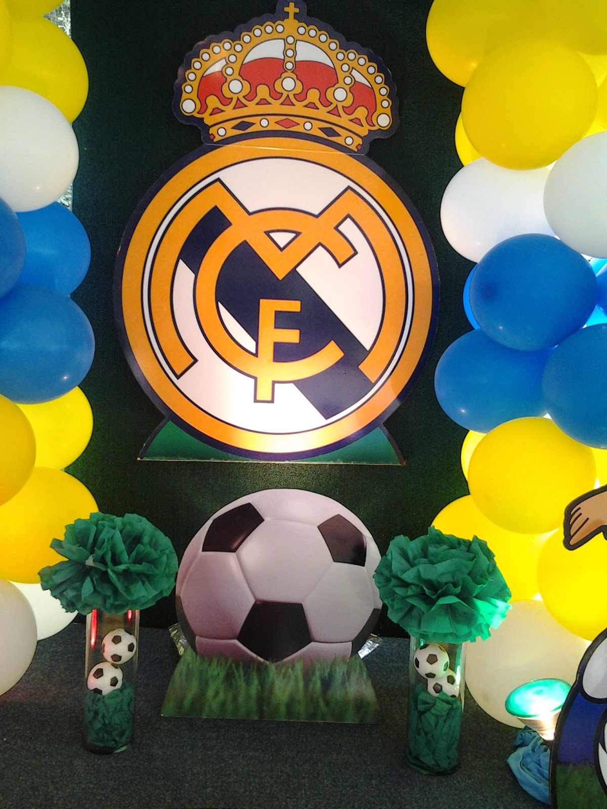 Pkelandia fiesta del real madrid - Decoracion madrid ...