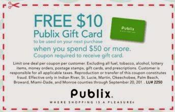 publix coupons 2018