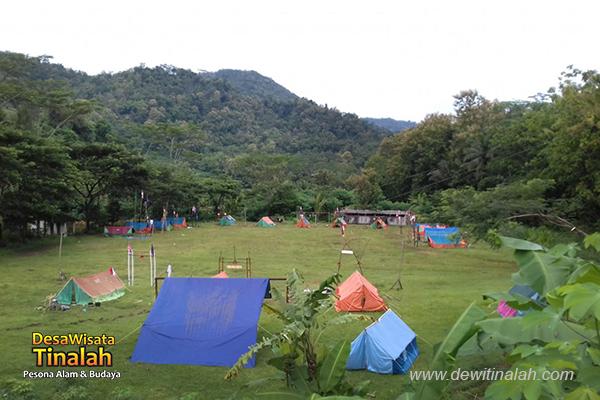 sma n 5 magelang camping di bumi perkemahan jogja di desa wisata tinalah kulon progo