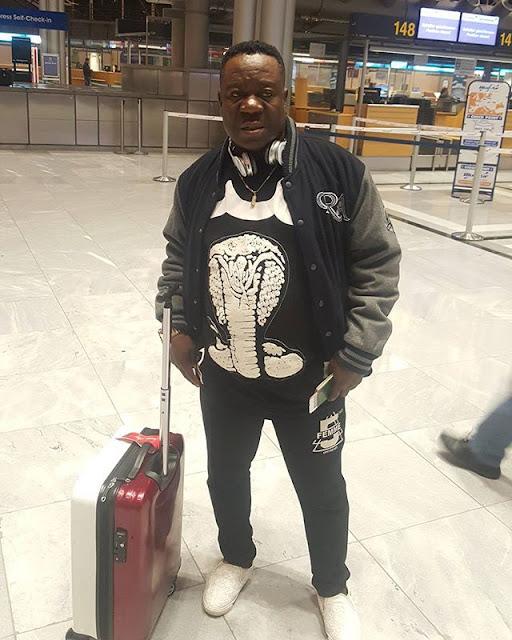 europe Tour, John Okafor 'Mr Ibu'  in style (photos
