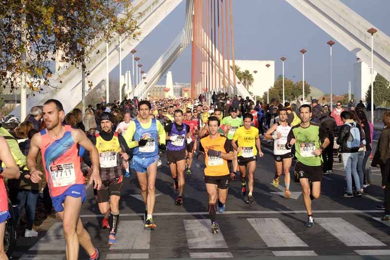 clasificaciones media maratón sevilla