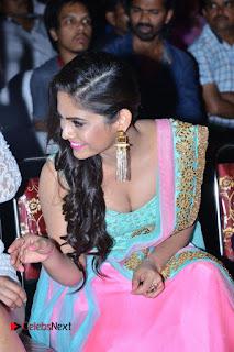 Actress Naina Ganguly Stills in Long Dress at Vangaveeti Audio Launch  0090.JPG
