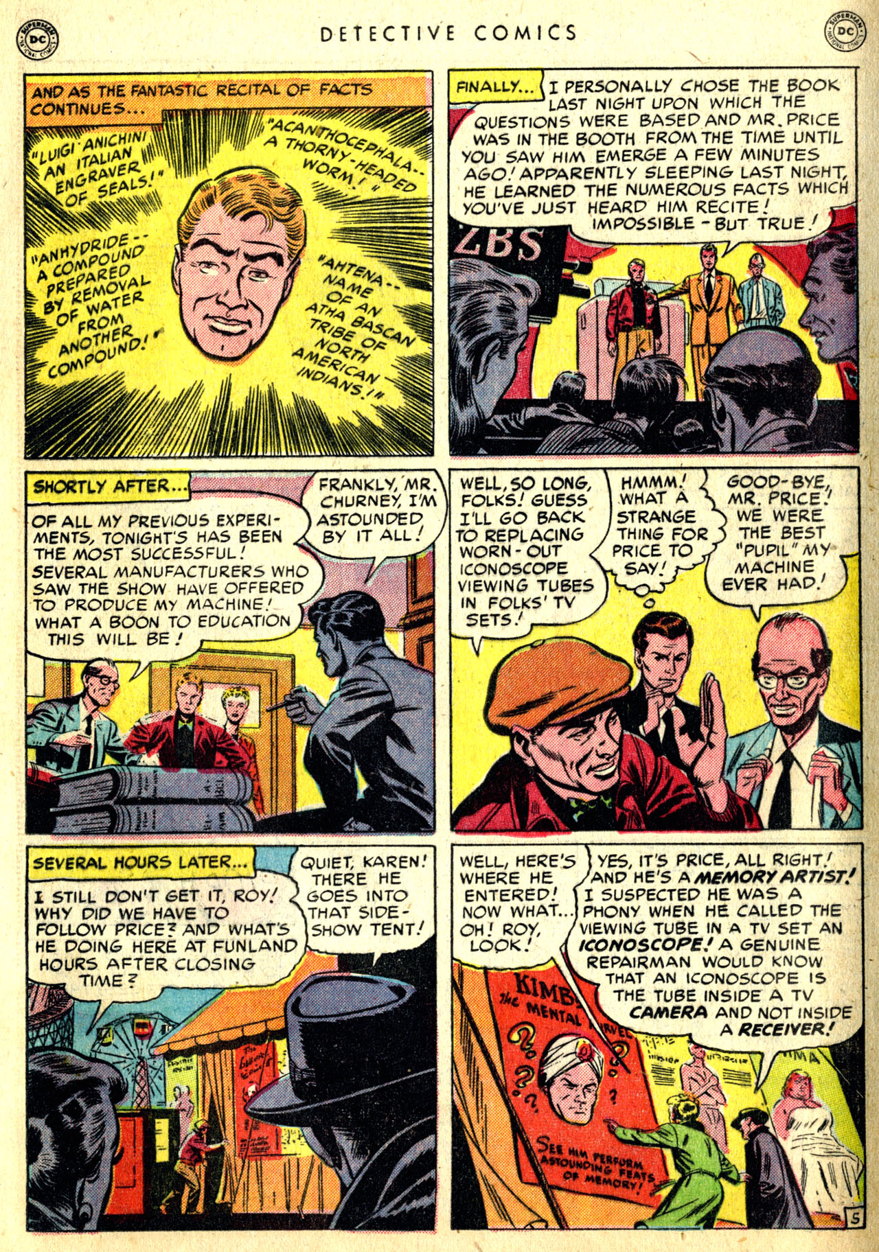 Read online Detective Comics (1937) comic -  Issue #168 - 23