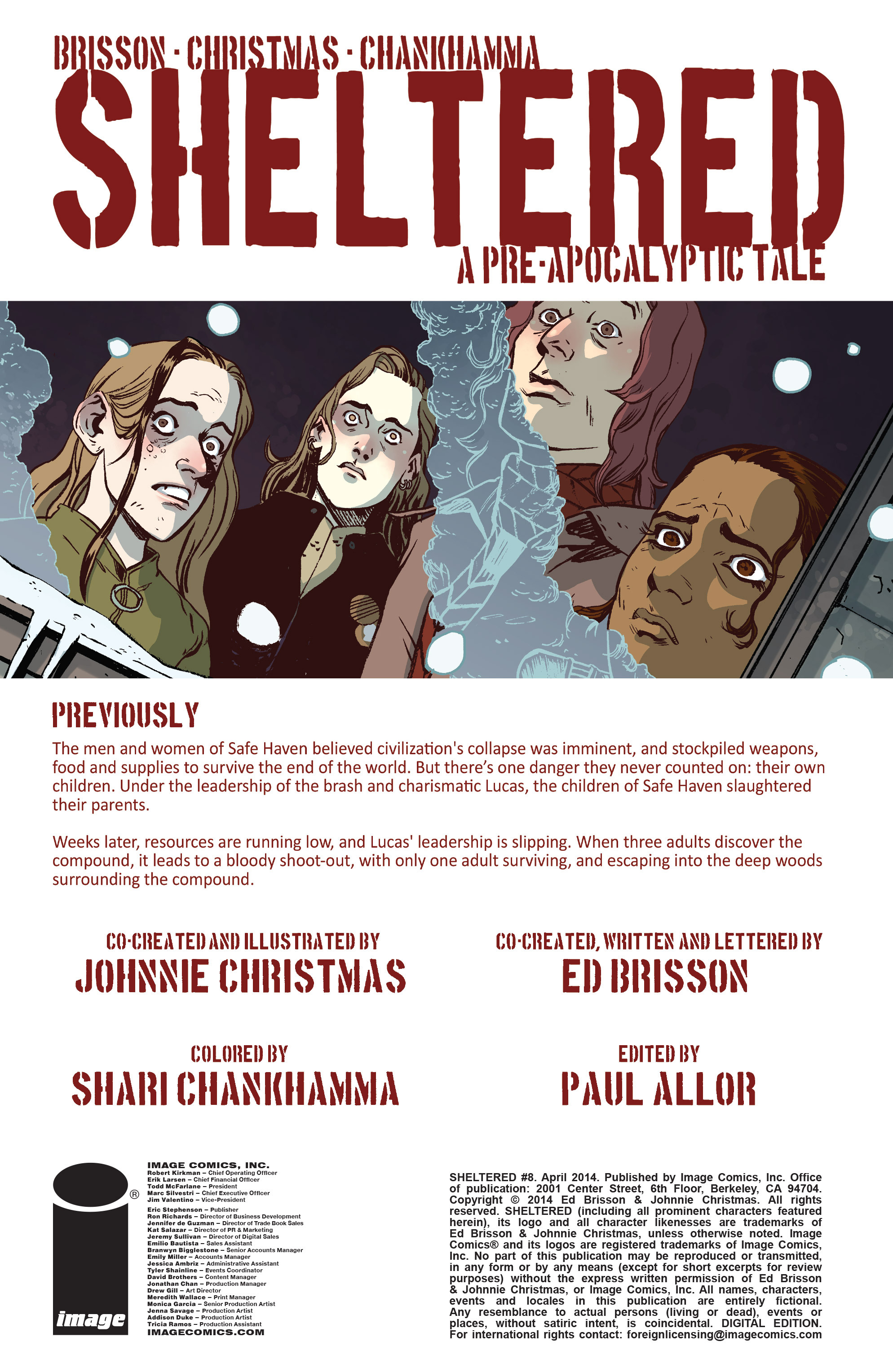 Read online Sheltered comic -  Issue #8 - 2