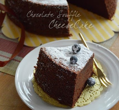 Resepi Chocolate Souffle Cheese Cake