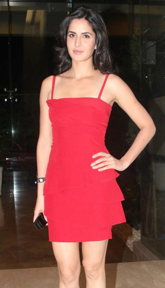 my country actress katrina kaif hot in red short skirt