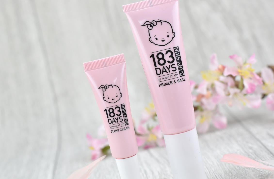 183 Days by trend IT UP Baby Skin Serie - Review und Erfahrung - Primer & Base - Glow Cream Highlighter