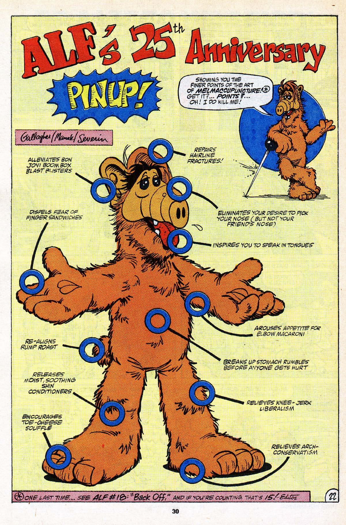Read online ALF comic -  Issue #25 - 24