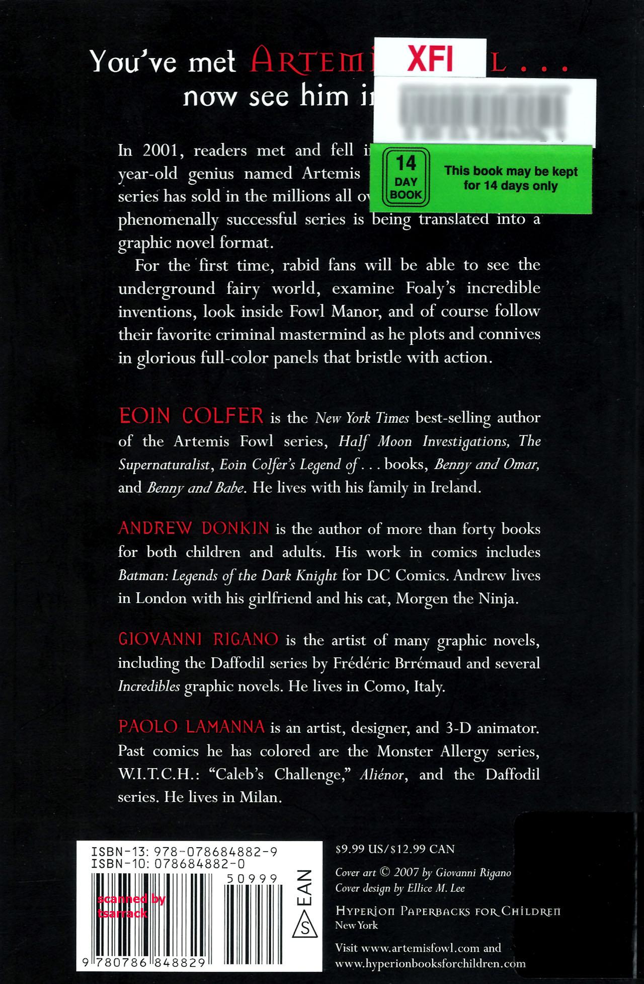 Read online Artemis Fowl: The Graphic Novel comic -  Issue #Artemis Fowl: The Graphic Novel Full - 114
