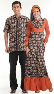 Gambar Model Baju Batik Muslim Terbaru