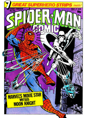 Spider-Man Comic #315, Moon Knight