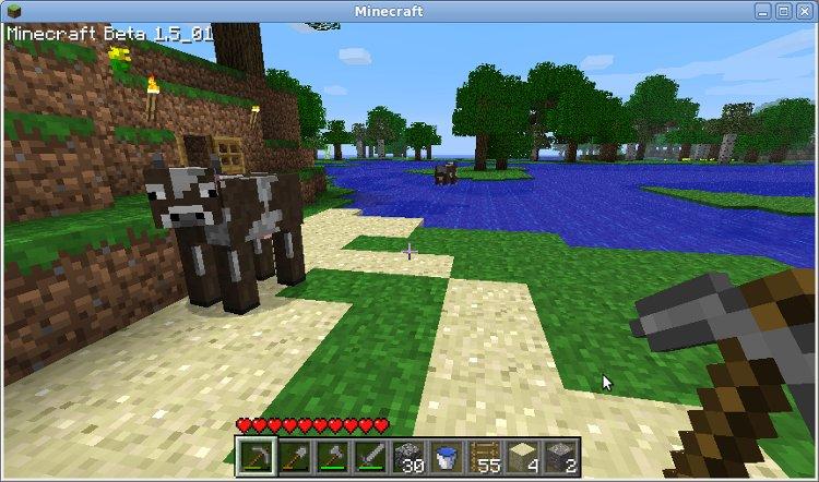 minecraft sålt hus