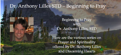 Image of Discerning Hearts website with mountains