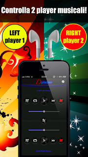 Double Player for Music with Headphones Pro(Ascolta 2 canzoni contemporaneamente con le cuffie)