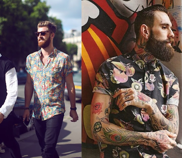 camisa masculina estampada com manga curta (3)