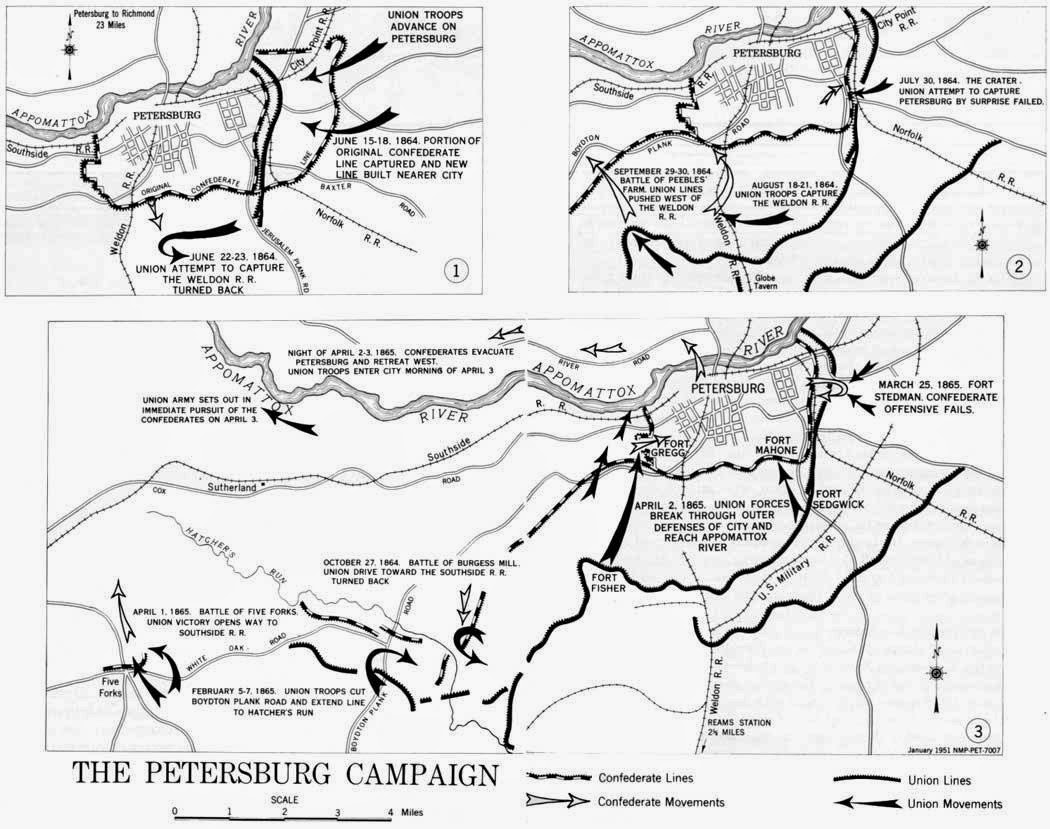 The South S Defender 150 Years Ago Siege Of Petersburg