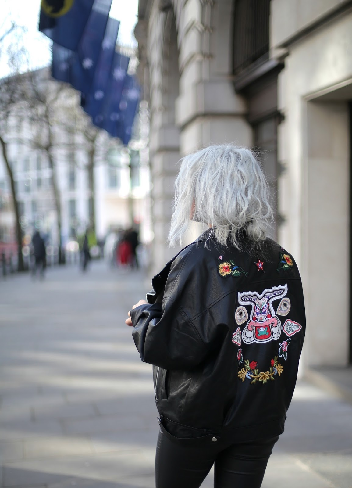 Pretty Little Thing Faux Leather Jacket