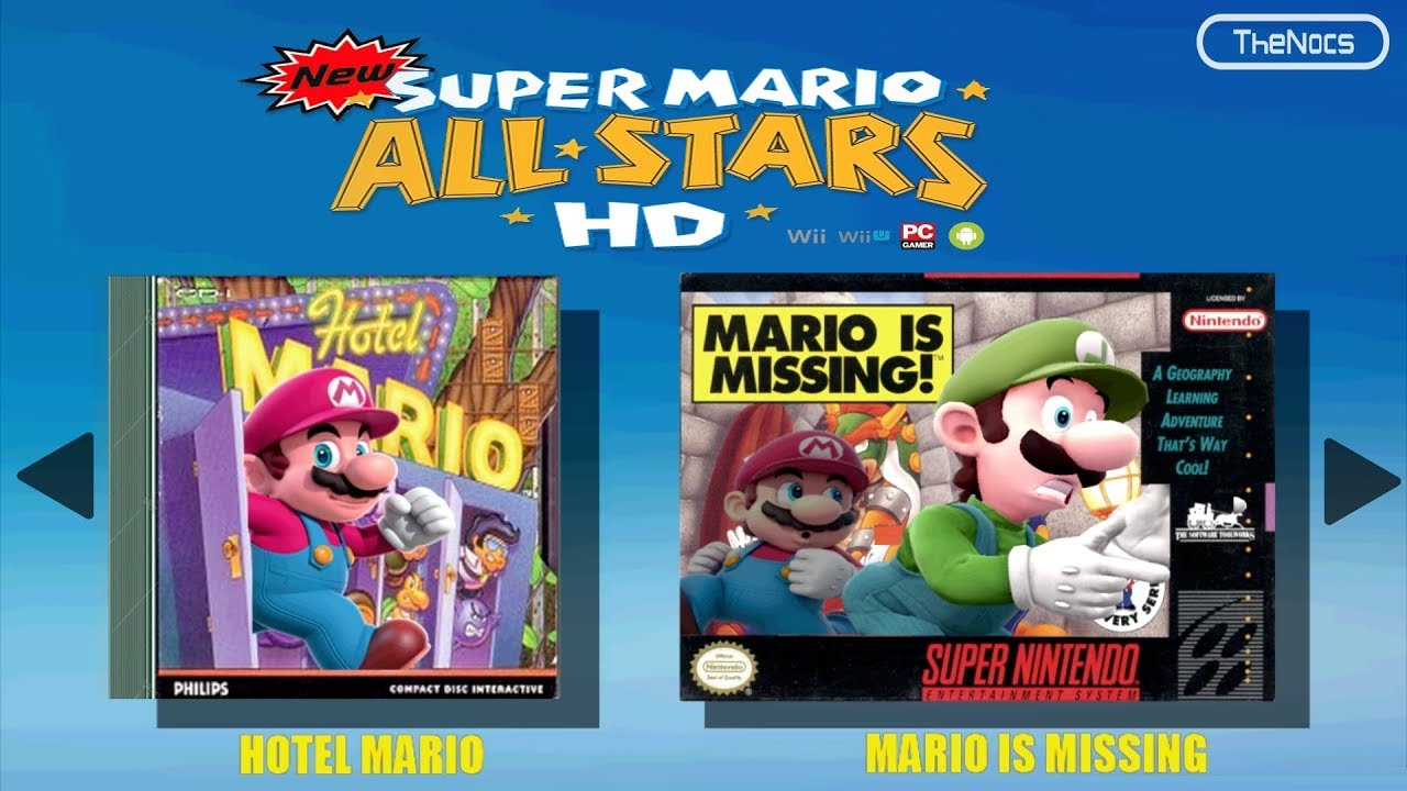 descargar super mario all stars para pc