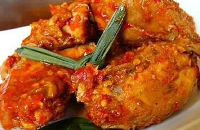 Cara Membuat Resep Ayam Rica Rica Pedas Manado