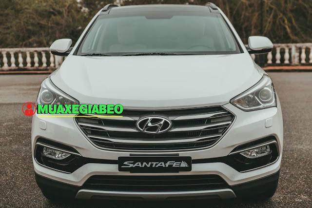 Giới thiệu Hyundai SantaFe 2.4L máy xăng phiên bản tiêu chuẩn 2WD ảnh 5