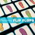 Flip Flops Printable Matching Games