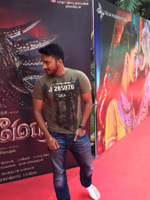 Kaashmora Tamil Audio Launch press meet stills