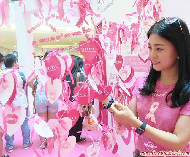 XIXILI Stand Up For Pink, Breast Cancer Awareness Campaign 2016, Pink October, Pink Walk, BCE