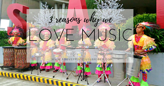 3 Reasons why we love music