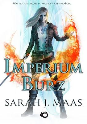 """Imperium burz"" Sarah J. Maas"