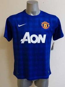 jersey MU away warna biru 2013