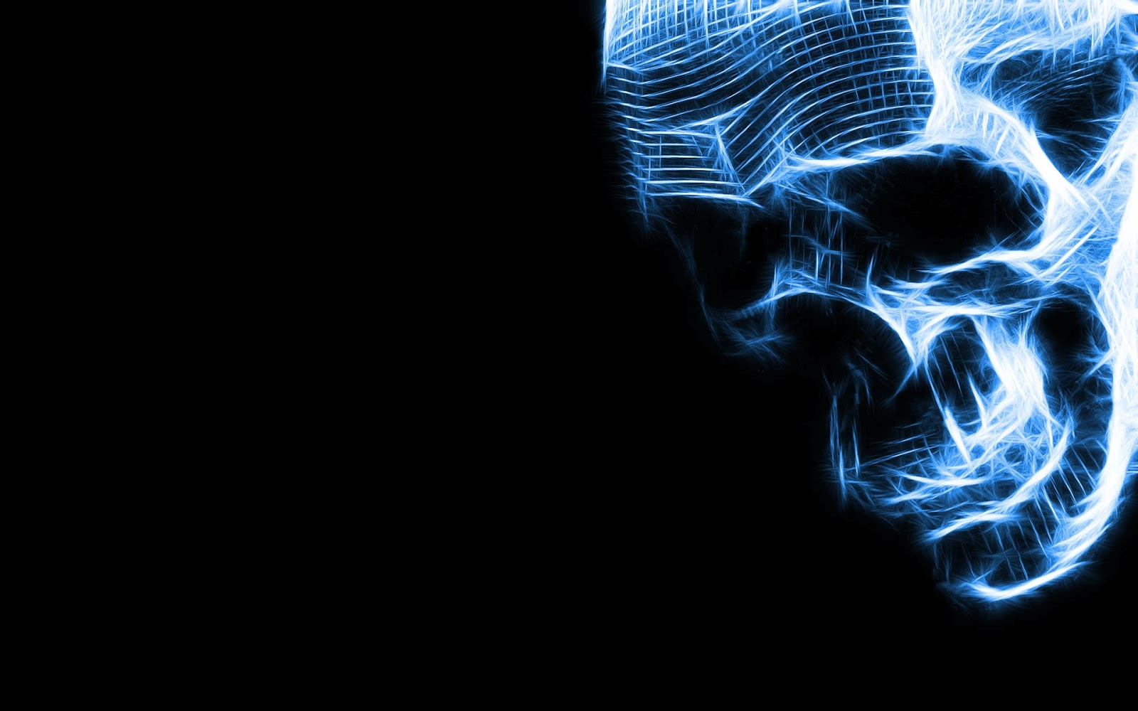 Neon Wallpapers for Android - Neon Skull