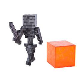 Minecraft Series 4 Wither Skeleton Overworld Figure