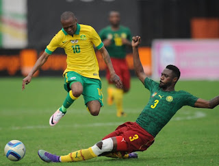 Nicola Nkoulou contre les Bafanas Bafanas, Cameroun, Lions indomptables