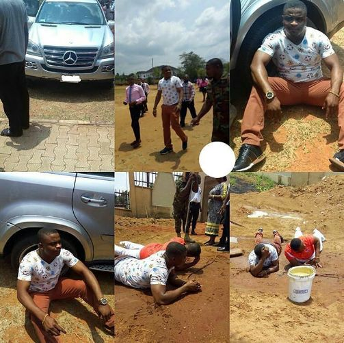 Guy Based in US Stormed Unizik to Beat Girlfriend's Lover... got messed up