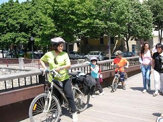 rutas en bici con niños por españa