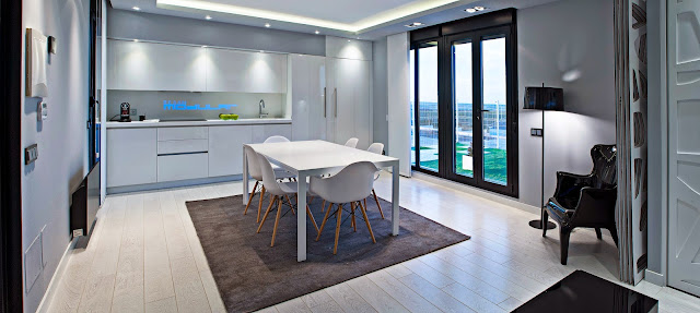 Vivienda modular Resan - Interior modelo loft