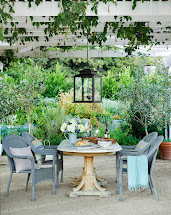 Outdoor Living- Pea Gravel Patio Inspiration - French