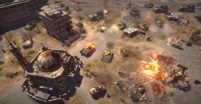 تحميل لعبة كوماند أند كنكر: جينرالز Command & Conquer للكمبيوتر برابط مباشر مجانا