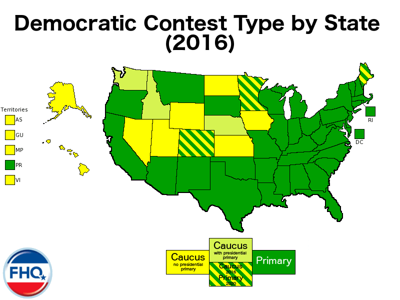 Furthermore If One Overlays The Recent Open Primaries Map Below On Top Of The Remaining Yellow States On The Map Above The Picture Fails To Clear Up Any